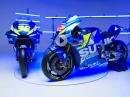 Präsentation Suzuki GSX-RR MotoGP - Alex Rins und Joan Mir