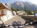 Predilpass (Passo di Predil, Predel) mit Honda CB500 - Mega Pass