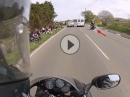 Pressatmung: Motorrad Crash mit Glück und Reaktion verhindert Puuuh