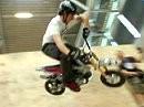 Pro50s Pitbike wie ein BMX Rad fahren! - Geil
