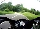 Probefahrt auf Suzuki TL1000S nach Oberflockenbach im Odenwald