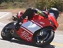 Probefahrt Ducati Desmosedici RR auf der Snake. Genialer Sound.