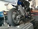 Prüfstand Suzuki GSXR 1100 Fighter - 150 PS am Motor