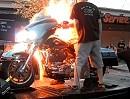 Prüfstand Harley Davidson: Druck auf die Kolben, Stichflamme, Ratlosigkeit