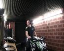 Prüfstand Kawasaki Z800 Cup Edition mit Scorpion RP1 FSM Schaltautomat