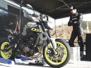 PS Tune Up Yamaha MT-09 Testride in Italien von Triplespeed.de