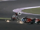 Qatar (Katar) SBK-WM 2016 Race 1 Highlights