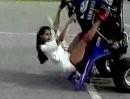 Sexy Quad Girl Stunting