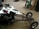 LTR Turbo Hayabusa Drag Quad