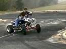 Quad am eskalieren - Vierrad Drifter Parker Wewerka hats drauf