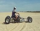 Quad ATV mit Suzuki Hayabusa Turbo Motor - Sandstrum