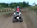 Quad / ATV Rennen als Rahmenprogramm Autocross Seelow 2009