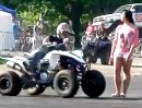 Quad ATV Stuntriding und Tricks mit Shocker ATV Group -