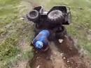 Quad Crash. Überschlag, und rollt und rollt und rollt ...