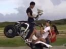 """Quad Wheelie - """"Bis einer weint Stunt"""""""