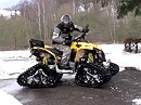 Quad/ATV Can-Am Renegade 800EFI mit Kettenantrieb (Mattracks)