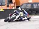 Quergetrieben: Joan Mir beim Supermoto Training: No Limits