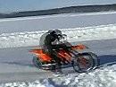 Quörtreibör - Driften bei -24° bis das Eis schmilzt, Skelleftea, Schweden