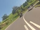 R6 chasing R6. Erbach, Odenwald, Nibelungenstraße