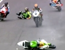 Race2 British Supersport (BSS) Cadwell Park 2012 - Highlights