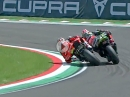Race2 Imola (Italien) SBK-WM 2018 Highlights