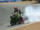 Race2 - Laguna Seca SBK-WM 2018 Highlights / Doppelsieg Rea