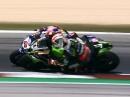 Race2 Misano (Italien) SBK-WM 2018 Highlights - Doppelsieg Rea / Kawasaki