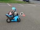 Racer Praktikum: Minibike / Pocket Bike - Geiler Zwerg ;-)