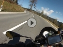 Ratenpass: Von Einsiedeln nach Oberaegeri - Aprilia Tuono V4