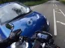 Rausgezogen, abgeflogen - Triumph Street Triple R Crash an Kreuzung