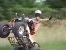 REAL atv wheelies - quad