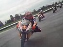 Red Bull Rookies Cup - Helmet cam video at 2008 Indy GP