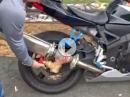 Regelbarer dB-Killer für Motorradauspuff - Crowdfunding ist geplant
