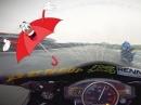 Regenreifen sind geil! Circuit de Bresse - Trackday mit Murtanio