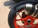 Reifentest Dunlop Sportsmart 2 Max auf Sardinien | Agilität,Grip, Aufstellmoment von Kurvenradius