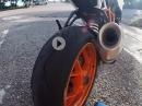 Reifentest Dunlop Sportsmart TT: Grip, Agilität, Laufleistung, Fazit von Kurvenradius