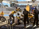 Reifenwechsel, volltanken in 15 Sekunden - GMT94 Yamaha blitzschnell