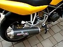 Remus Auspuffanlage an Ducati ST4