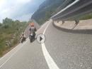 Reng teng teng - irgendwo in Italien auf irgendeiner gesperrten Strasse.