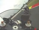Rennstrecke Most onboard mit Yamaha R6 RJ15