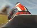 Rennstrecken Crash: Abgeschossen! Sehr kurios - gebremst?