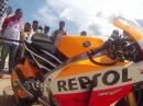 Repsol Honda MotoGP Team 2015 Präsentation in Bali