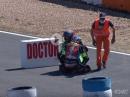 Respekt!!! Crash Berchet vs. Simeon - Great sportsmanship, Gänsehaut, 12H Estoril 2021