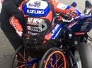 Respekt: Rollstuhl vs Motorrad Racing - Leidenschaft, eiserner Wille überwindet jedes Hindernis