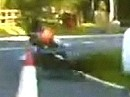 Rico Penzkofer - Sturz im Training bei der Isle of Man - TT 2009