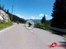 Riedbergpass Triumph Street Triple, Ducati 848 - SC Project Sound