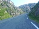 Røldalsgebirge (Norwegen, RV520) Motorradtour