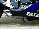 RLS Exhaust custom sports bike drag pipe - Suzuki GSX-R 600