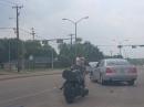 Roadrage: Biker vs. Autofahrer: Vier Fäuste für ein Halleluja