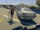 RoadRage: Chopper vs Auto - Mit dem Falschen angelegt !?!